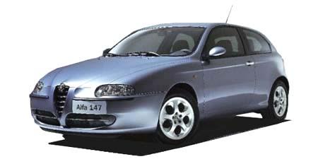 初Alfaさんの愛車