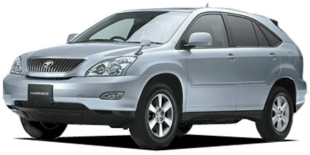 TOYOTA HARRIER, 240G catalog - reviews, pics, specs and prices
