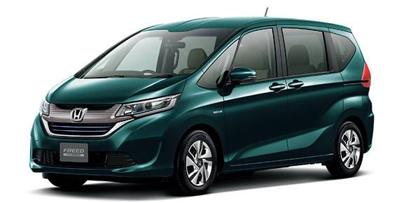 Honda Freed Hybrid Hybrid Ex Catalog Reviews Pics Specs And