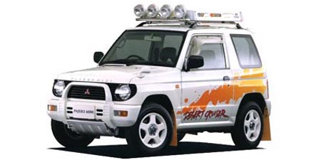 Image result for mitsubishi pajero mini desert cruiser