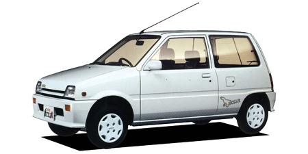 ダイハツ ミラ 軽自動車市場で消費税実施、物品税廃止に伴い、新しい車種体系となる5ナン... の