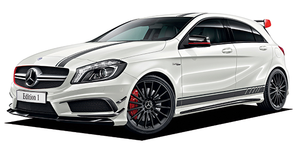 MERCEDES BENZ ACLASS A45 AMG 4MATIC EDITION 1 catalog  reviews