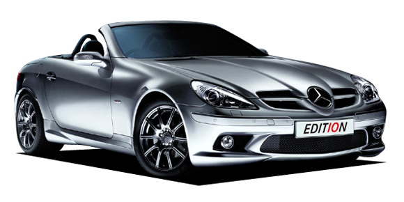 """Mercedes-benz honors the slk with """"edition 10"""" model autoblog."""