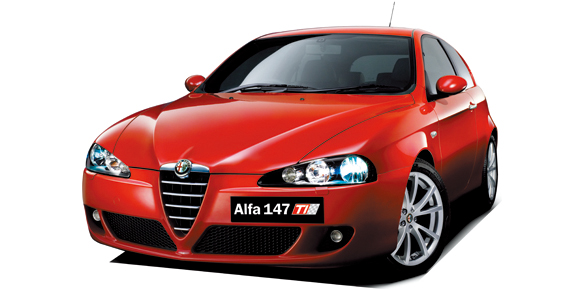 alfa romeo alfa 147 ti 2 0 twin spark catalog reviews. Black Bedroom Furniture Sets. Home Design Ideas