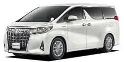 沖縄県の中古車 トヨタ アルファードハイブリッド