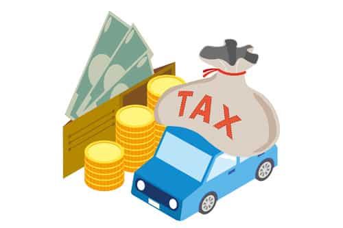 軽自動車・普通車の維持費 税金