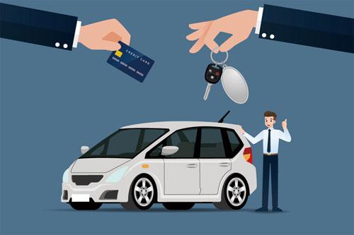 残価クレジットでは、事故車になっても支払いが必要です