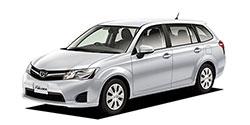 沖縄県の中古車をトヨタ カローラフィールダーから探す
